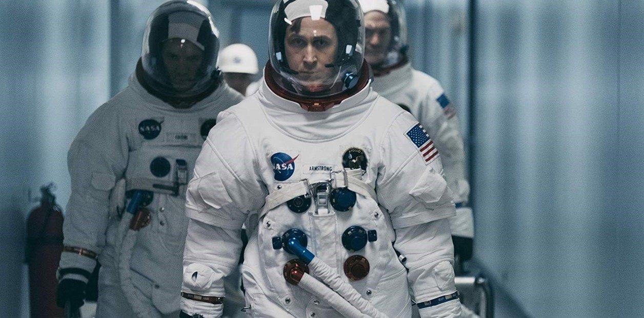 El primer hombre en la Luna foto